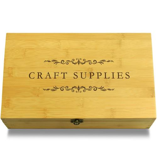 Craft Supplies filigree Wooden Chest Lid