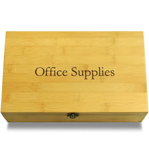 Office/School Supplies Organizer Box Lid