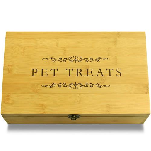 Pet Treats Filigree Organizer Lid