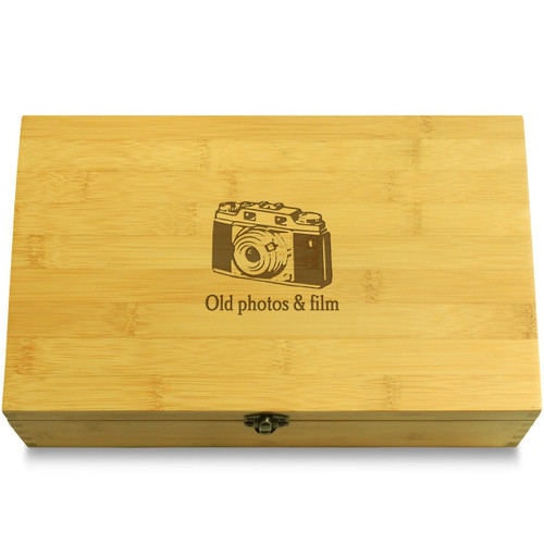 Old photos and film Organizer Box Lid