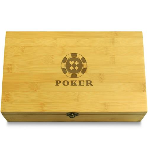 Poker Chips Box Lid