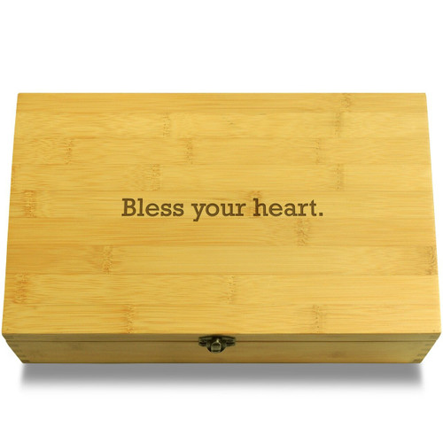 Bless Your Heart Wooden Box Lid