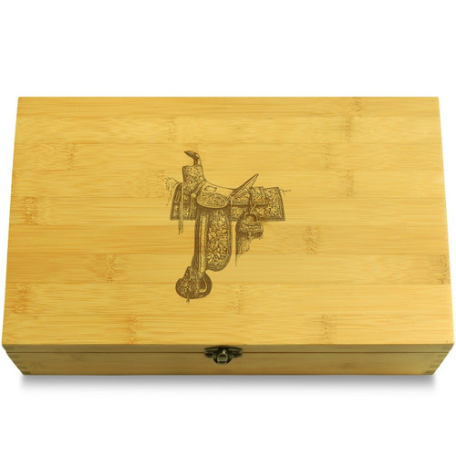 Saddle Wood Chest Lid
