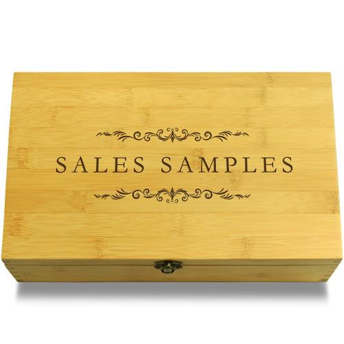 Sales Samples Filigree Organizer Box Lid