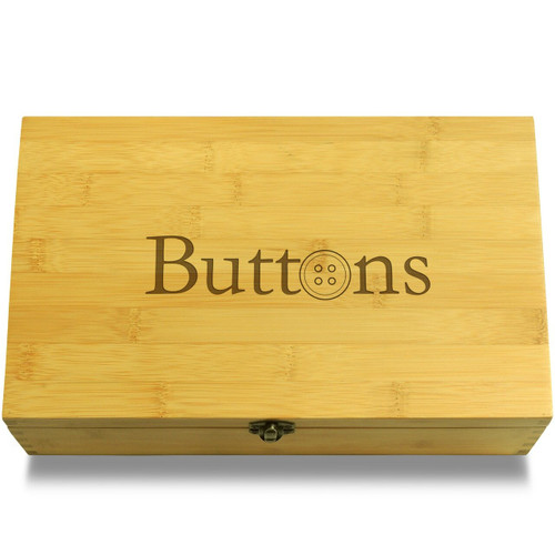 Buttons - O is a button Organizer Box Lid