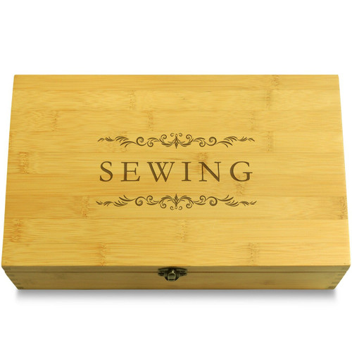Sewing Sewing Multikeep Box Light Wood Chest