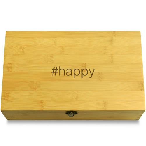 #happy Wood Chest Lid