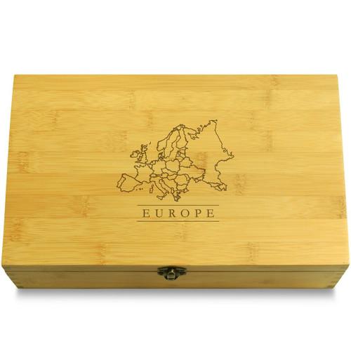 Europe Map Organizer Lid