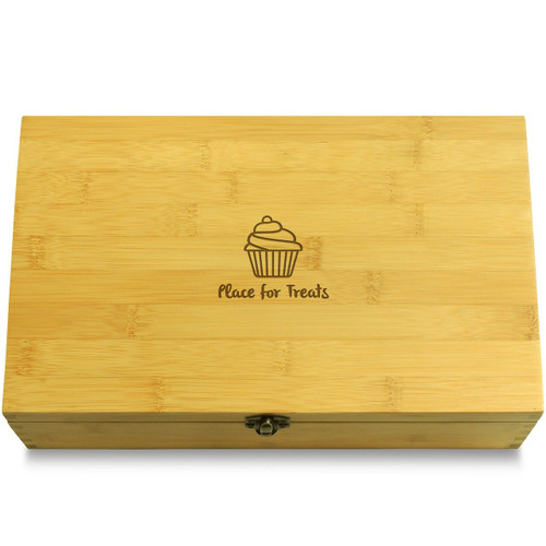 OneCupcake Wooden Box Lid