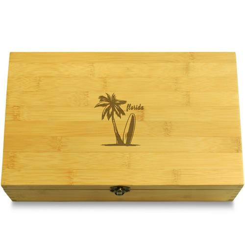 Florida Wooden Box Lid
