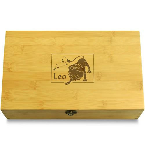 Leo Wooden Box Lid