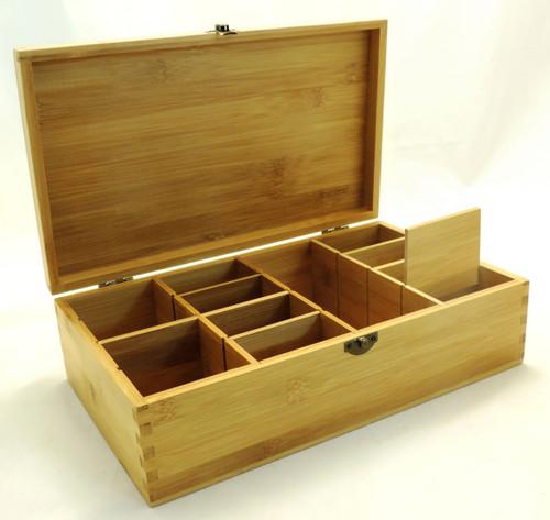 Open adjustable organizer