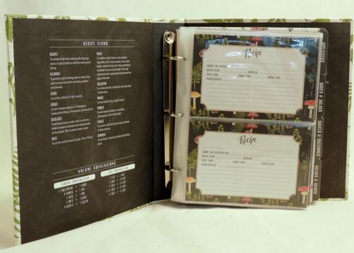 Half Page Cookbook Album - Botanical Fern