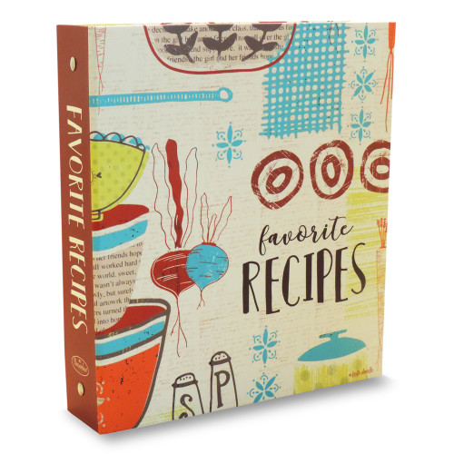 Half Page Recipe Card Binder-Made with Love