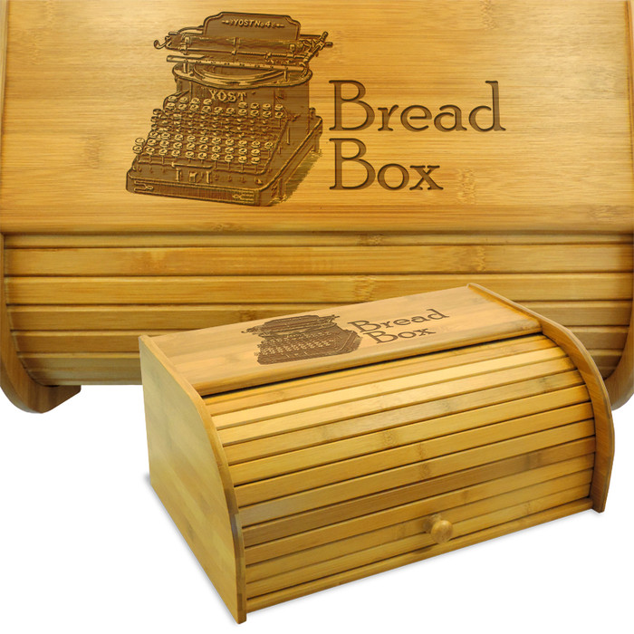 Typewriter Breadbox