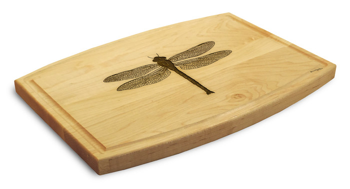 Dragonfly 9x12 Grooved Cutting Board