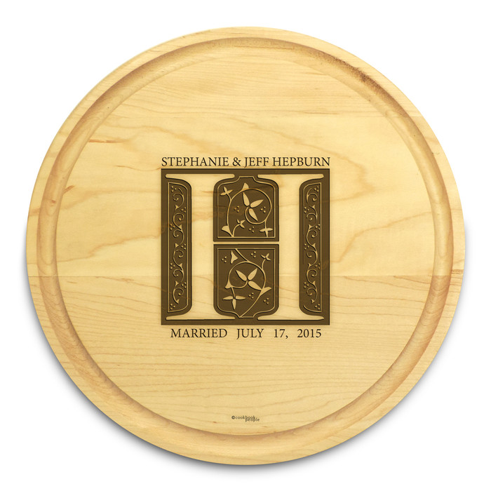 Fairy Tale 10in Round Maple Cutting Board with Juice Groove