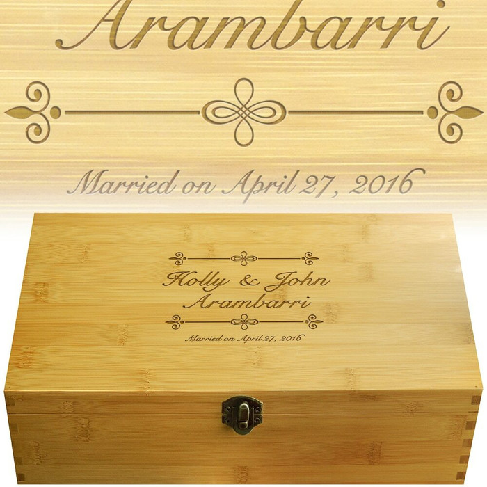 Bliss Wood Multikeep Gift Box