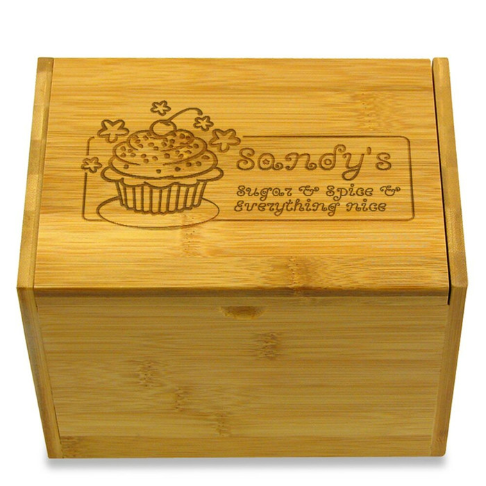 Sugar and Spice 6x4 Personalized Box Girls