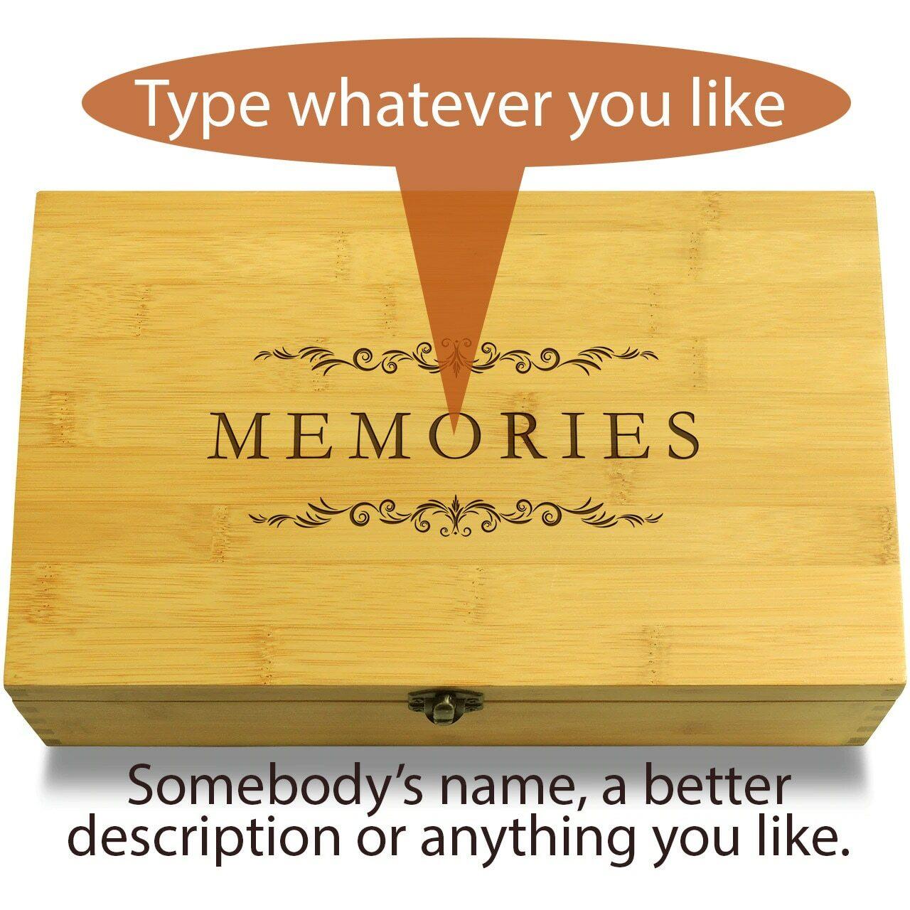 Type Whatever You Like Classic Filigree Multikeep Box