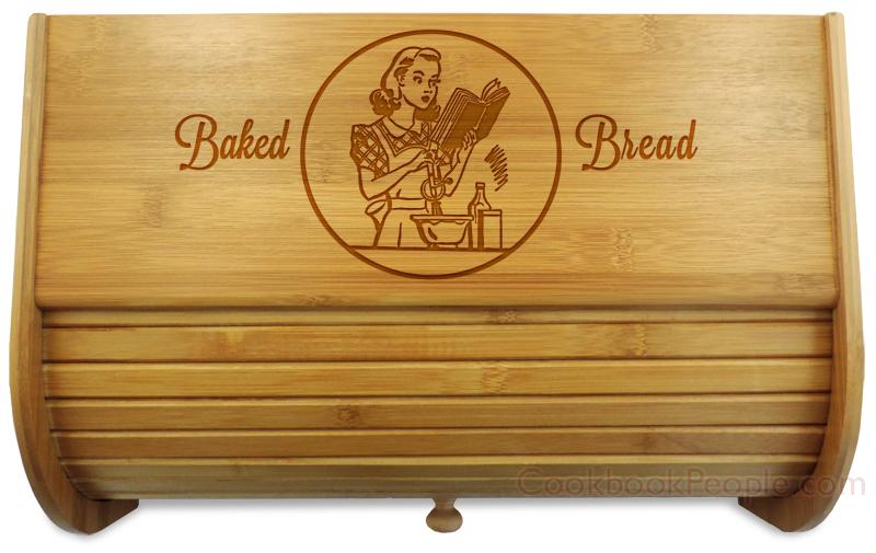 Bread Box Close Up of Lid