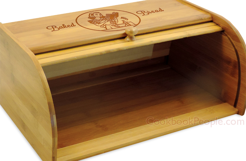 Rollup Bread Box Opened
