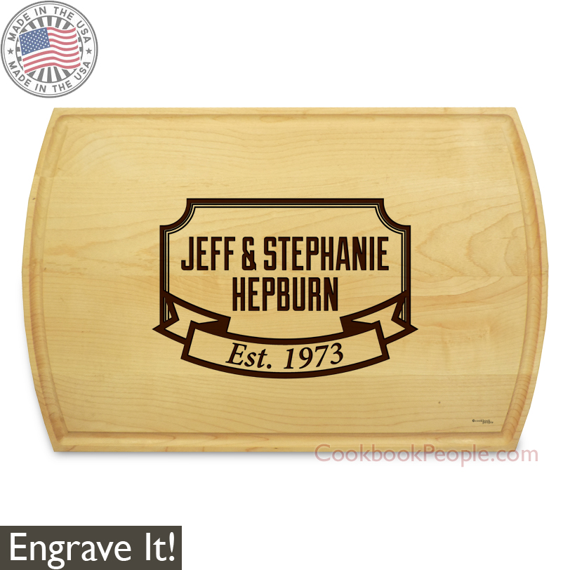 Personalized Rectangular Cutting Board