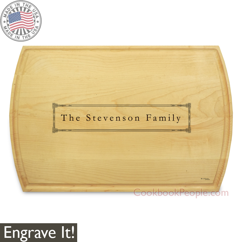 Personalized Rectangular Cutting Board