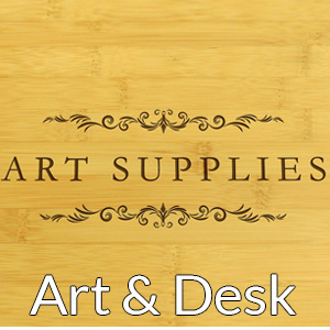 Art supplies wood boxes