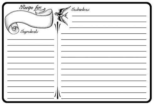 300 free printable recipe cards the best of the rest