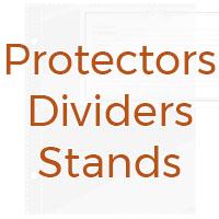 Recipe binder sleeves, dividers and protectors