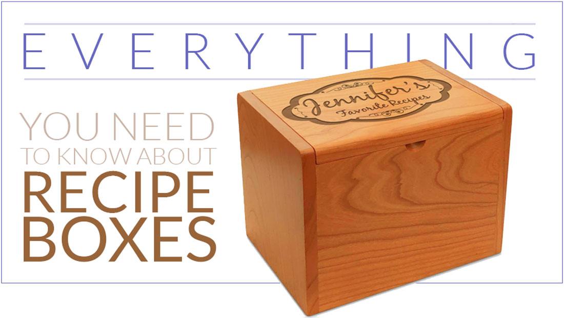 All About Recipe Boxes