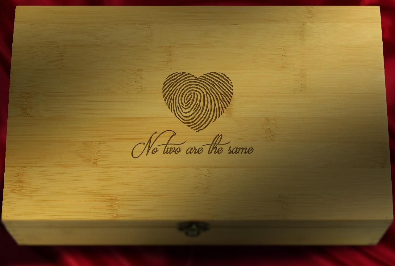 bamboo love keepsake box