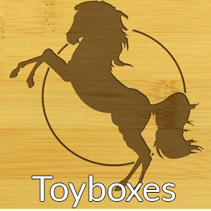 engraved toyboxes