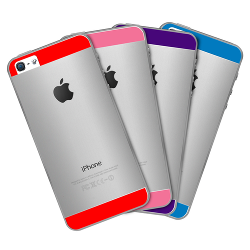 Premium Custom Color Screen Protectors for iPhone 5 / 5s