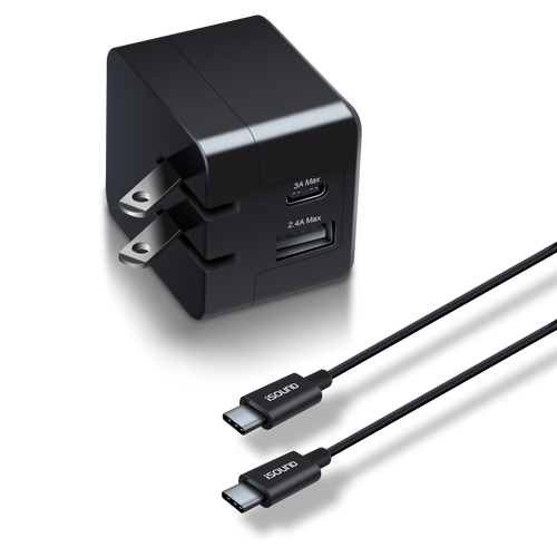 Dual USB AC Adapter Kit