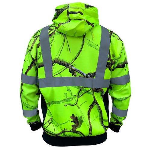 SafetyShirtz SS360 Backwoods Camo ANSI Class 2 Safety Vest