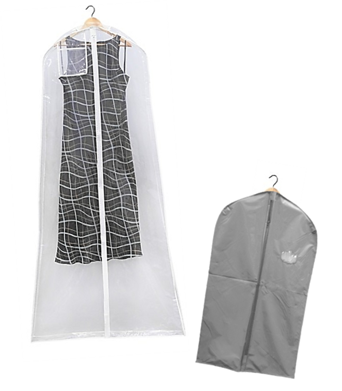 Vinyl Dress & Suit Bags