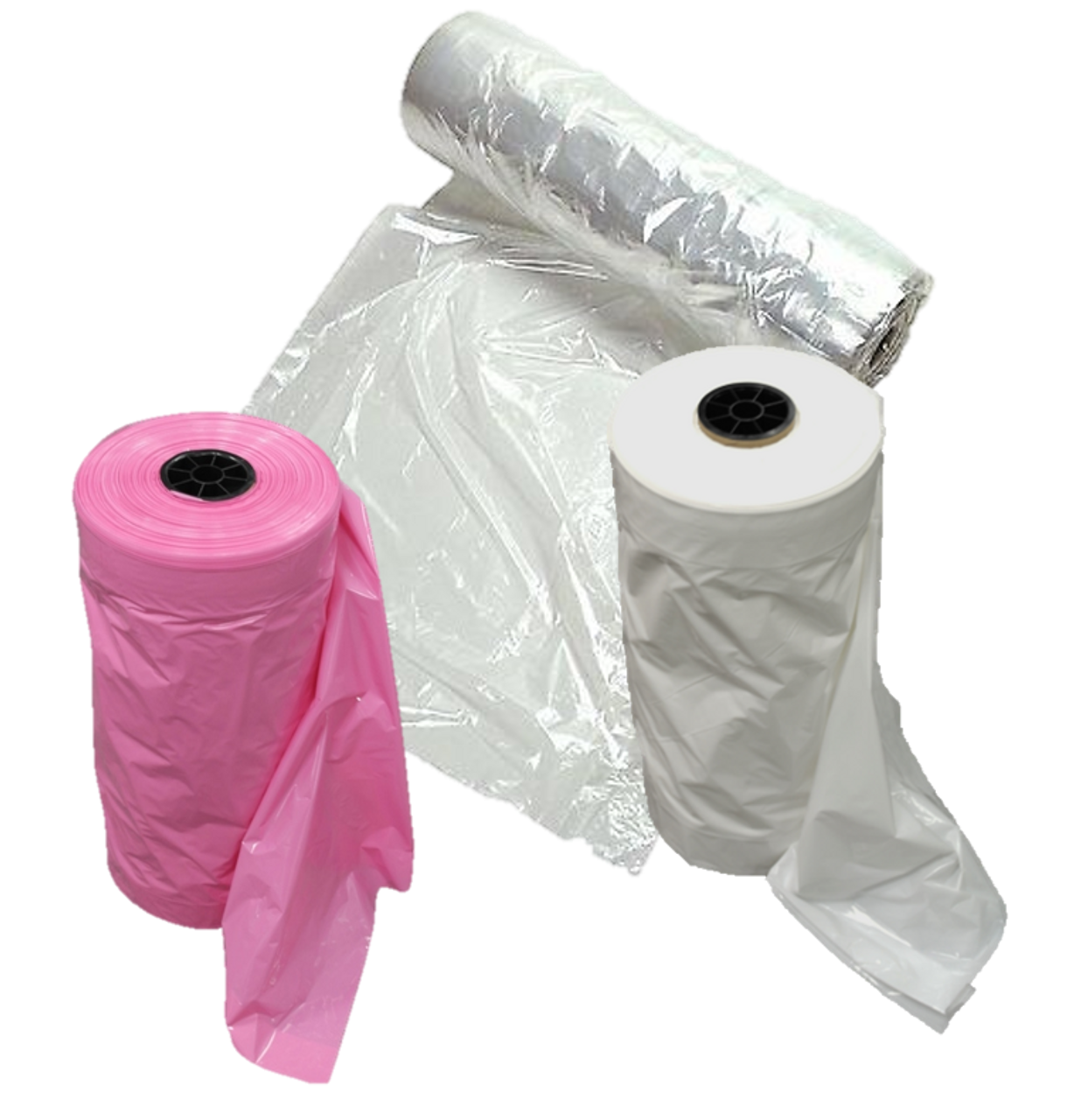 Poly Plastic Bag Rolls