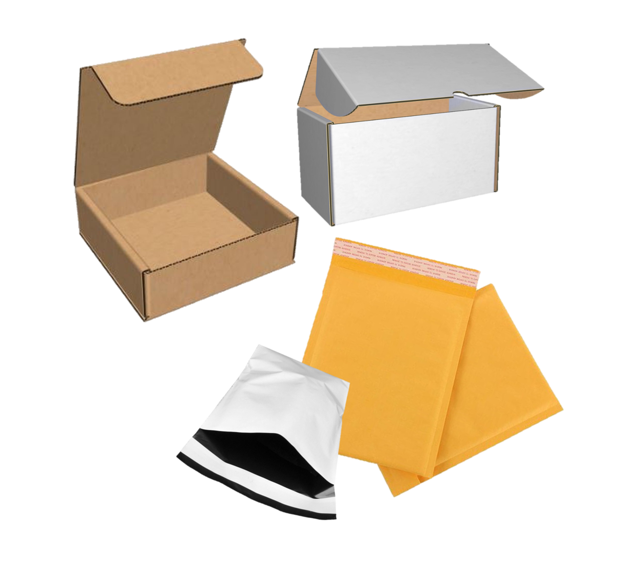 Corrugated Mailers Shipping Pouches