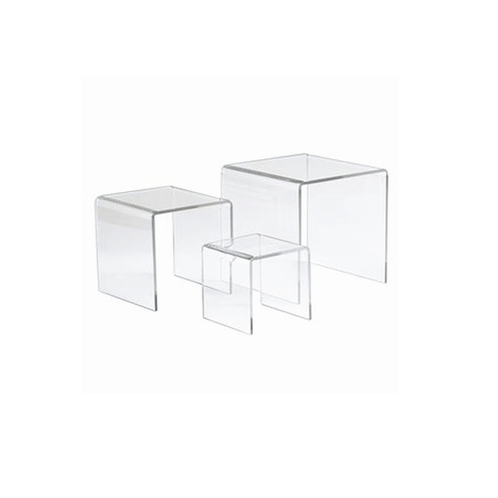 Plexi Risers & Card Holders