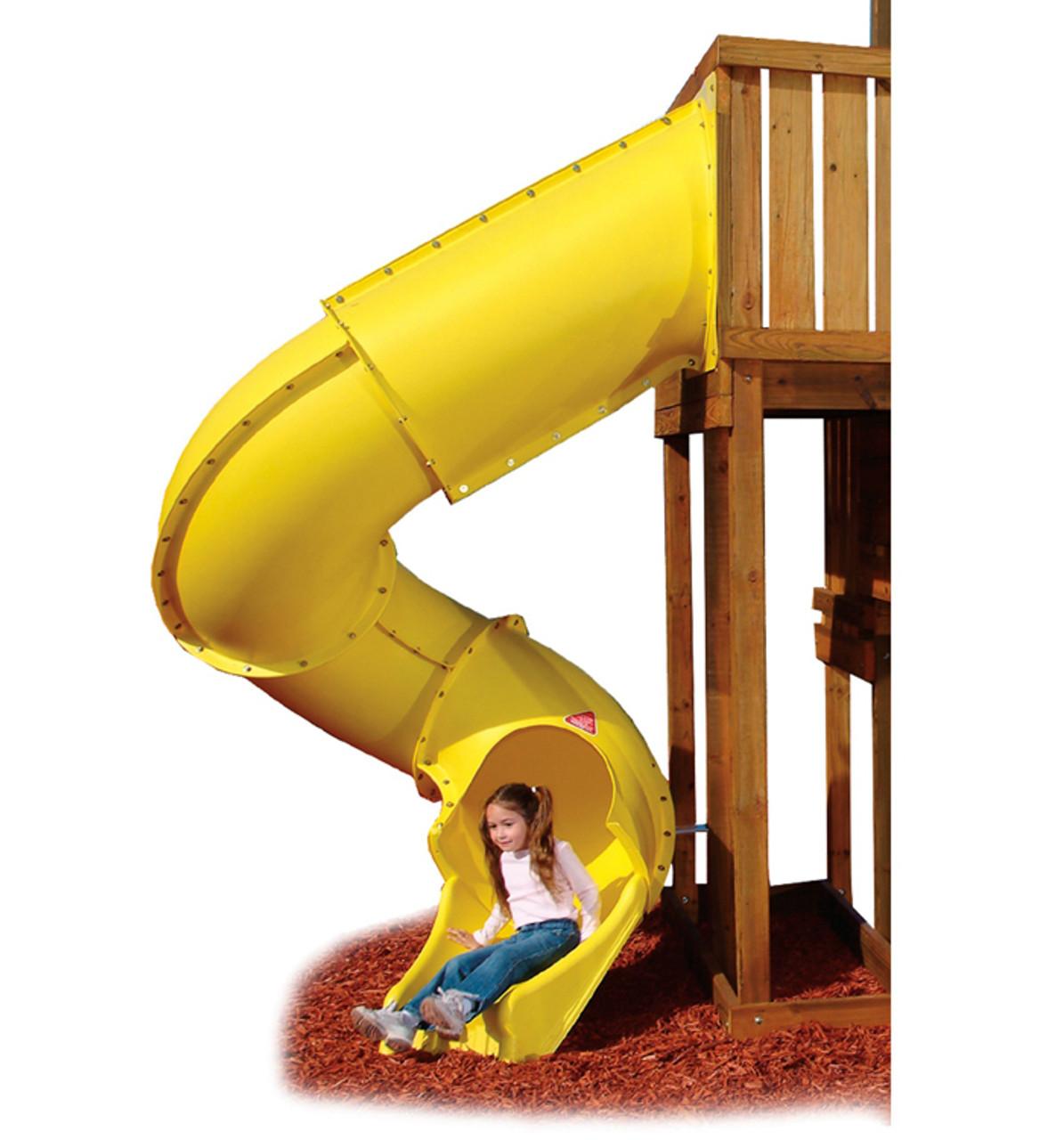 Yellow 7 Turbo Tube Slide