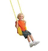 Heavy Duty Swing Seat- Yellow