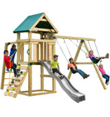 Hawk's Nest Play Set (add 4x4s and slide)