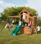 Tioga Fort Wood Complete Play Set