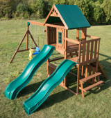 Willows Peak Deluxe Wood Complete Play Set