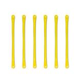 "23.25"" Yellow Metal Ladder or Monkey Bar Rungs- 6 Pack"