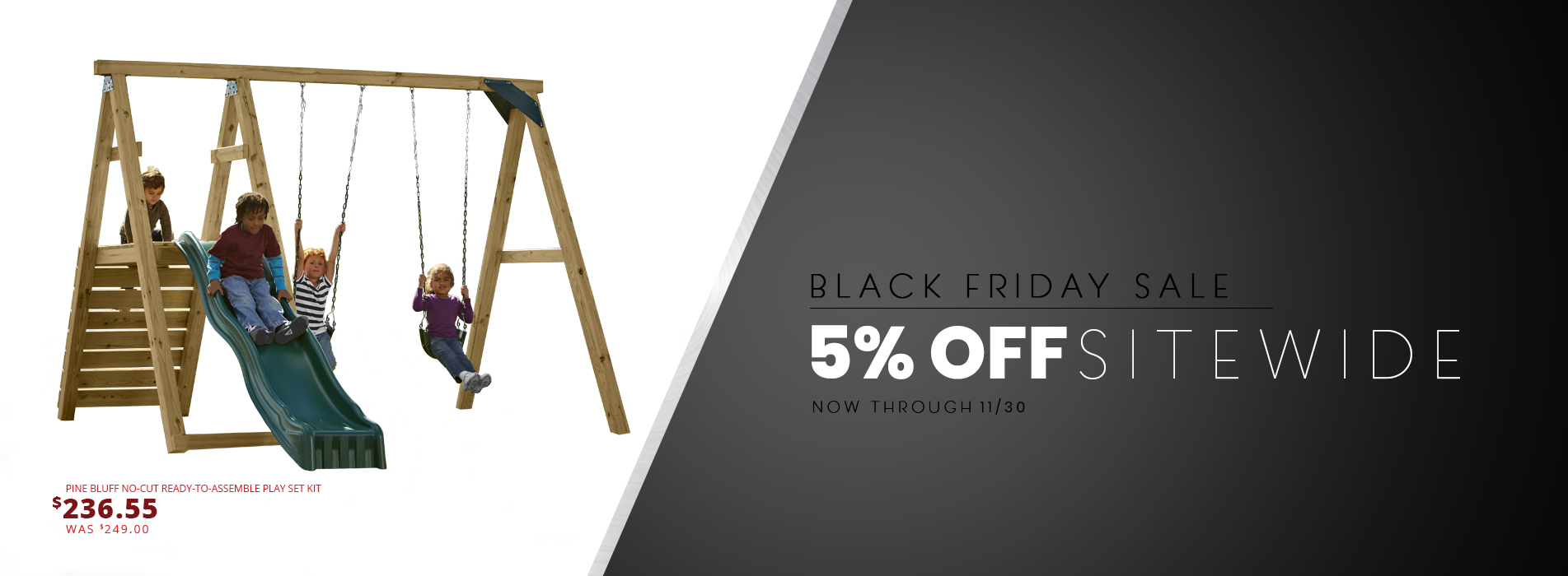 Take advantage of our Black Friday Sale from now until November 30th!