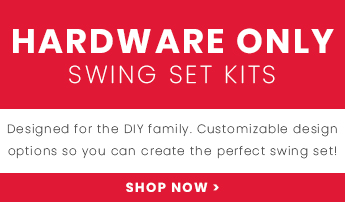 Shop our hardware only swing set kits and customize your perfect playset!