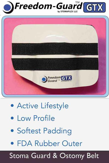 ostomy belt for swimming, Freedom-Guard GTX, Stomaplex stoma guards